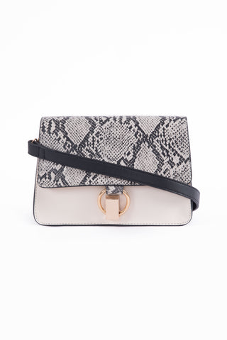 Black & White Cross Body Bag