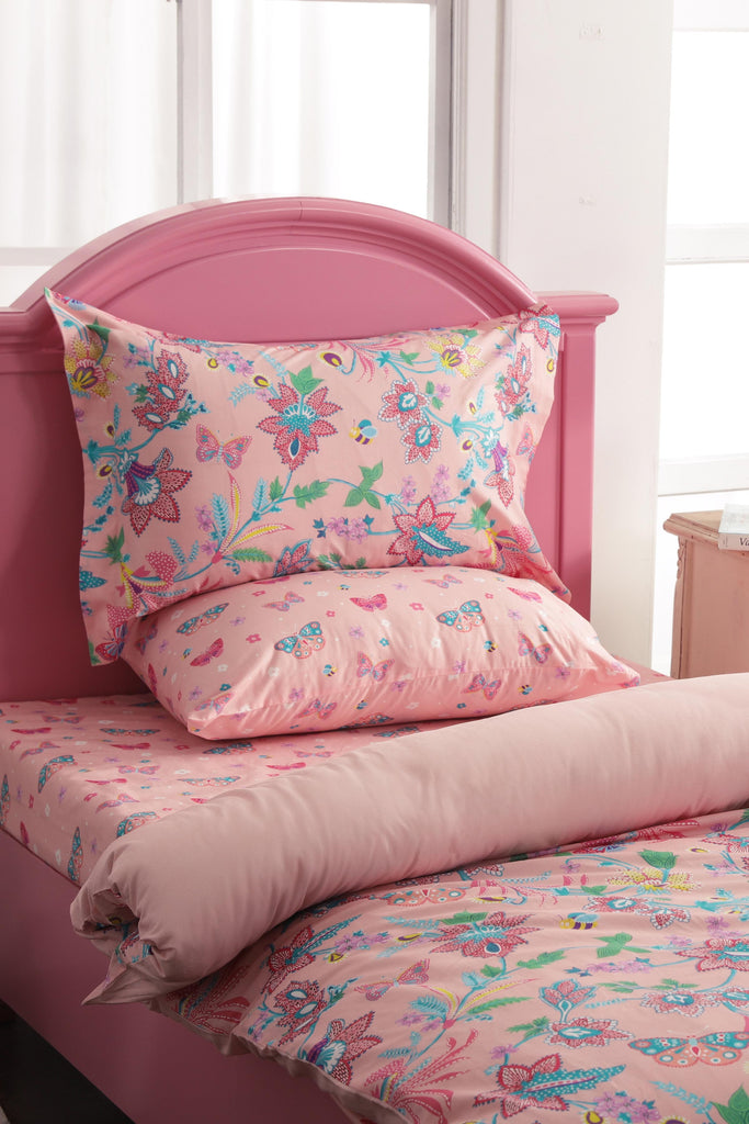 Butterfly Garden Bed Sheet