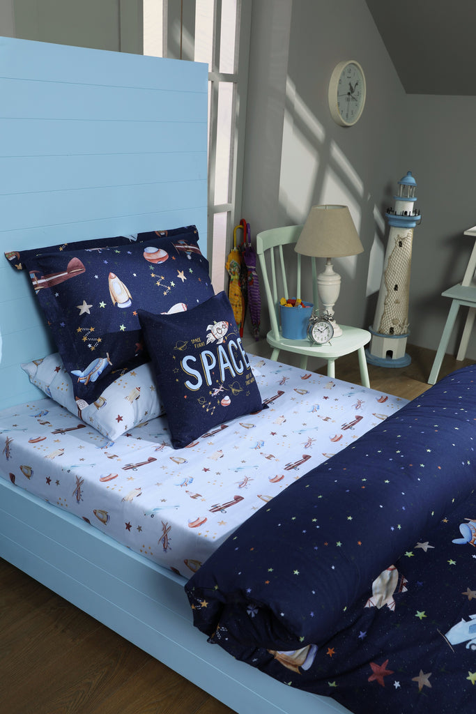 Galaxy Space Star - Bed Sheet