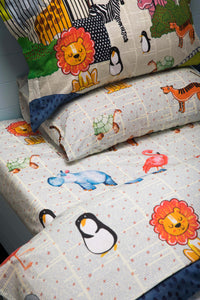 City zoo Quilt Cover