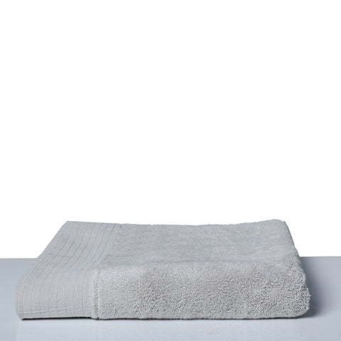 Bath Towel Luxury-Steel Grey