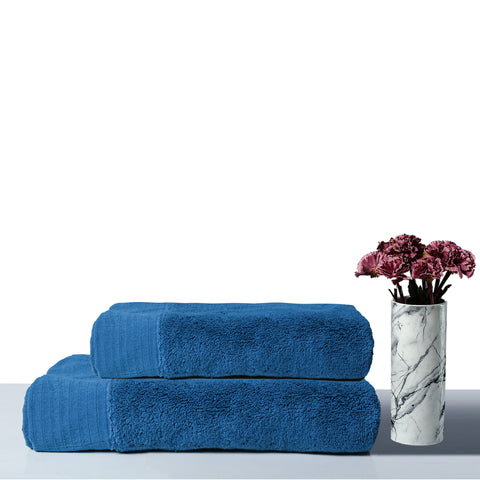 Luxury Hand Towel  -  Teal