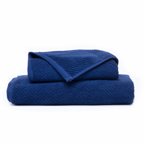 Blue Chevron - Towel