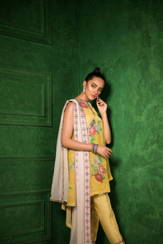 Honey Drop Dupatta