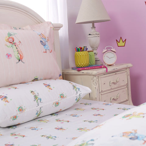Clown of Circus - Bed Sheet