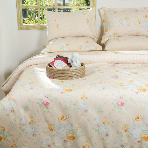 Country Floral Quilt Cover