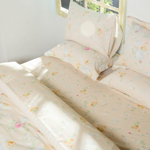 Country Floral Bed Sheet