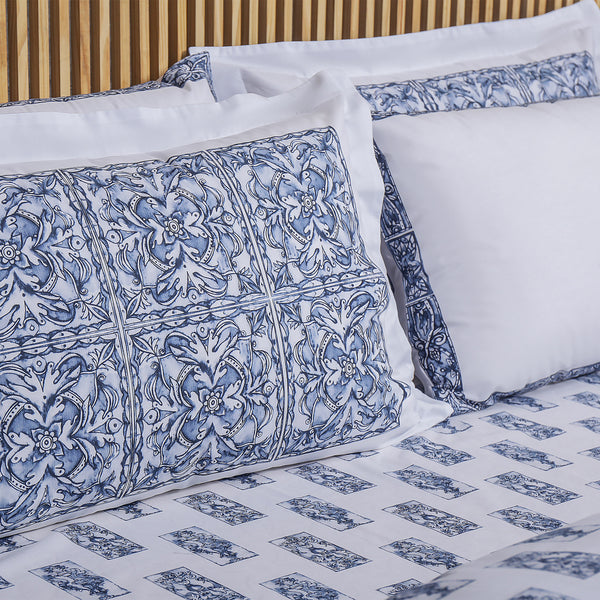 Blue Pottery - Pillows