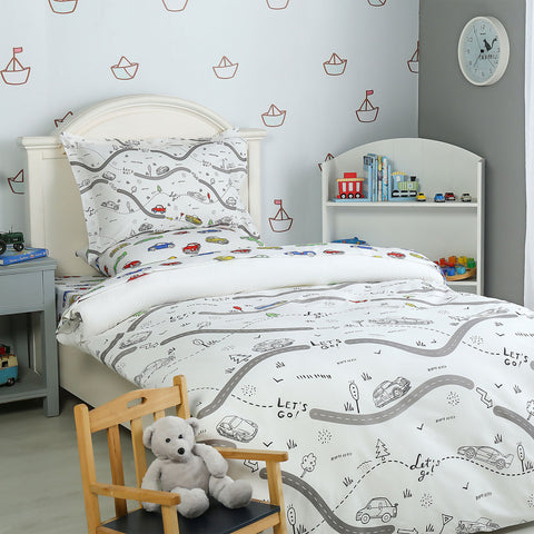 Let`s Go Quilt Cover