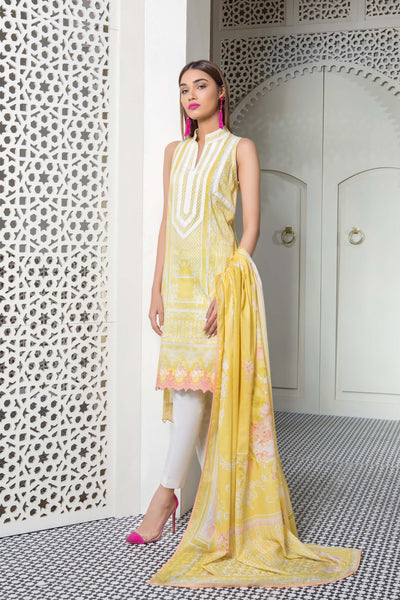 Pretty Love B Sapphire Lawn Collection