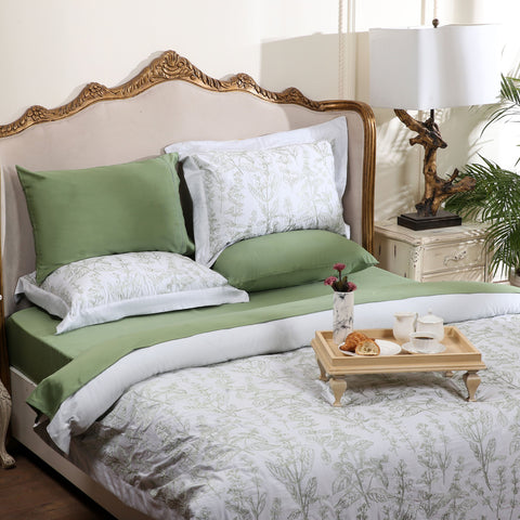 Jade Green - Quilt Cover