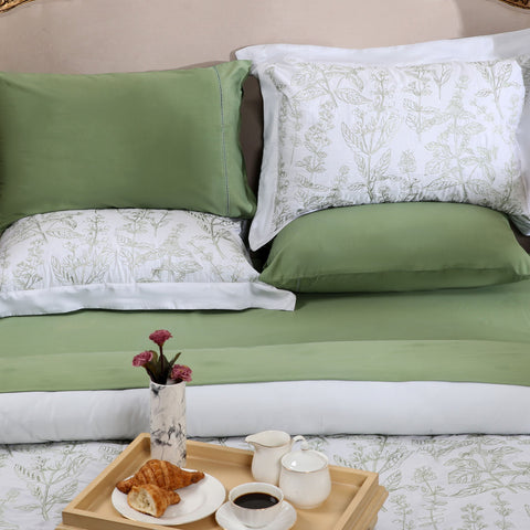 Jade Green - Bed Sheet