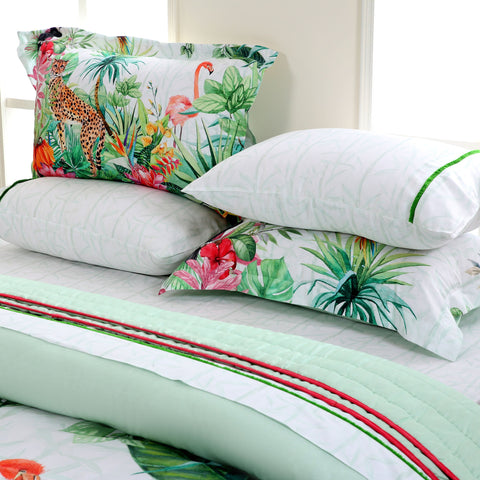 Tropical Forest - Bed Sheet