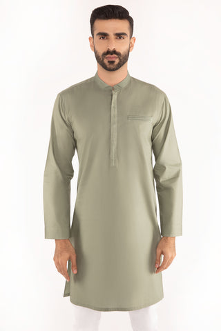 Dark Green Kurta
