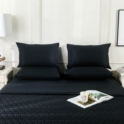 Jet Black Fitted Sheet