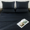 Jet Black Bed Sheet