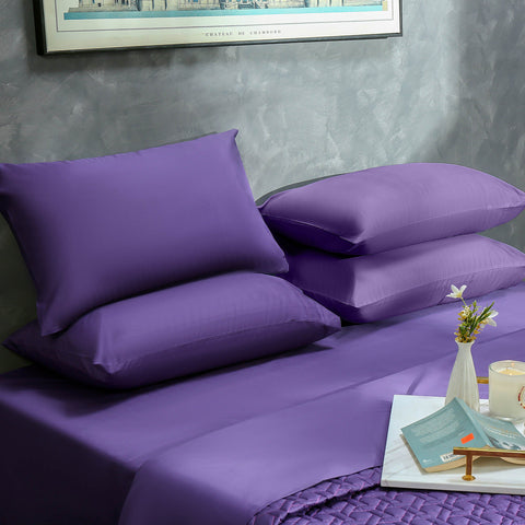 Plum Bed Sheet