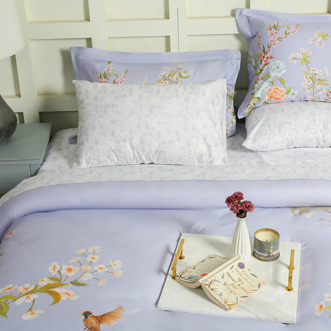Sweet Pea Bed Sheet