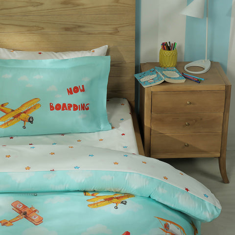 Dreamy Flight Bed Sheet