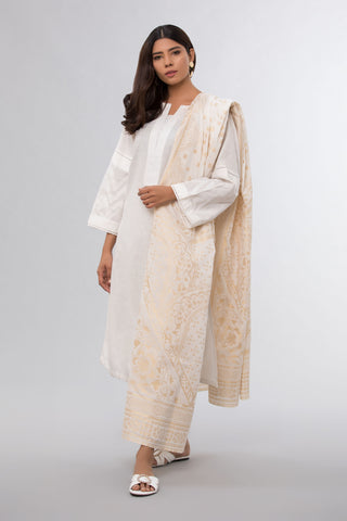 Lurex Wrap White
