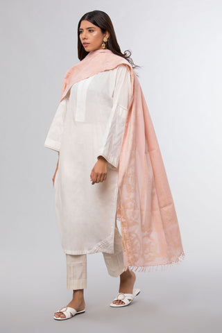 Lurex Wrap Tea Pink