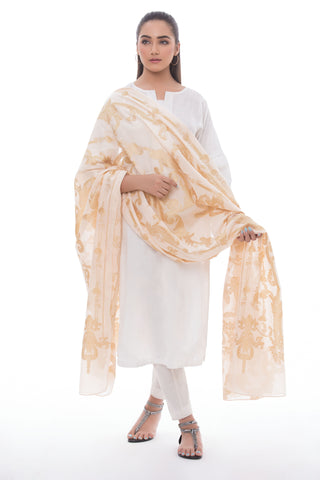 Lurex Wrap Peach