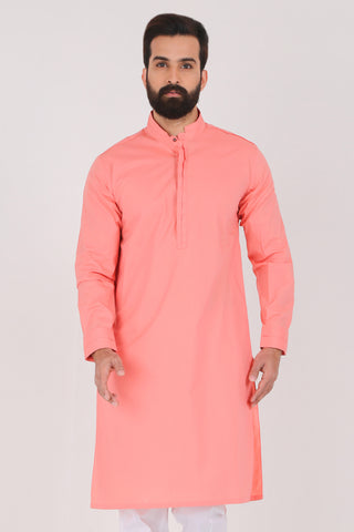 Crab Apple Kurta - Slim Fit