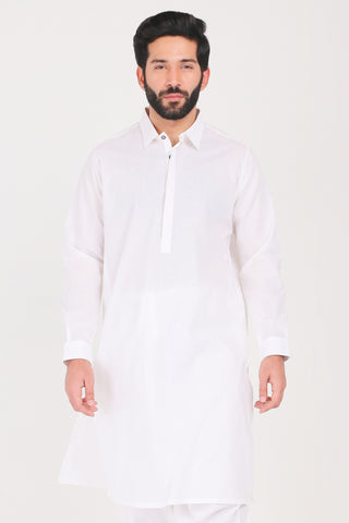 White Purity Kurta Shalwar