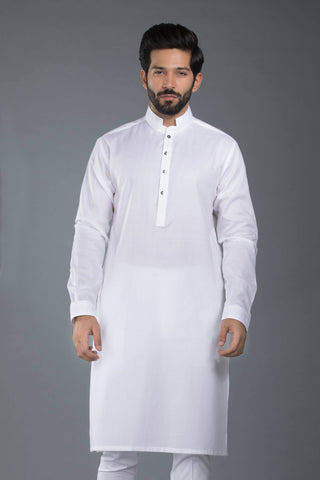 Pure White Kurta