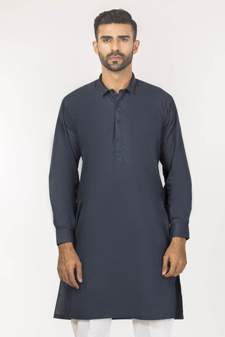 Jaded Crisp Trimmed Kurta