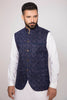 Royal Blue Waist Coat