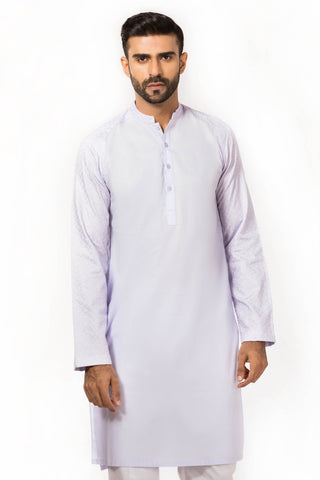 Lavender Ready To Wear Kurta
