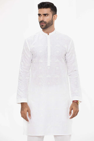 Statement White Kurta