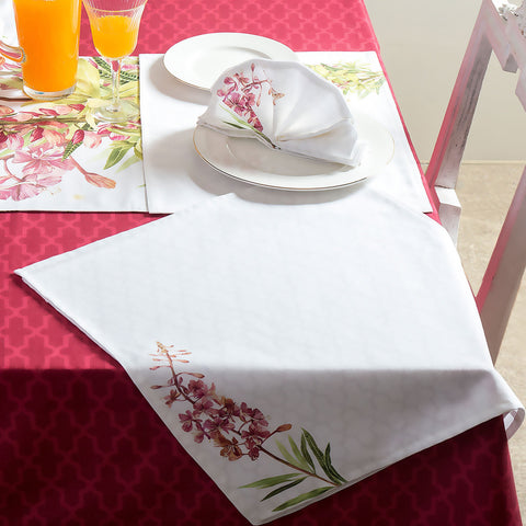 Napkins Willow Herb