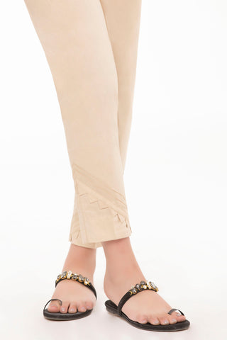 Beige Cigarette Pants