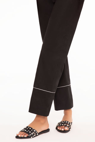 Black Cigarette Pants B