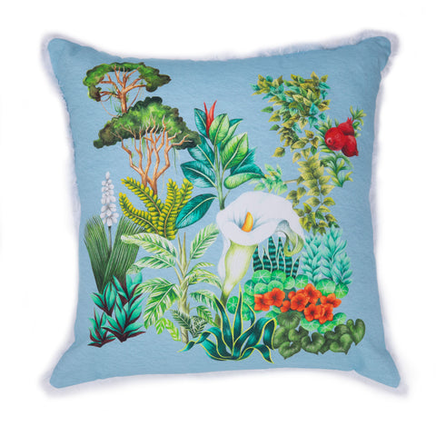 Opus Blue - Cushion Cover
