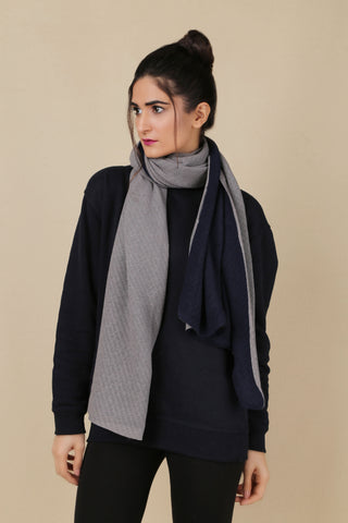 BW.121.DARK GREY & NAVY