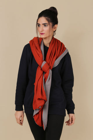 BW.122.ORANGE & GREY