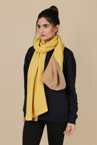 BW.125.YELLOW & LIGHT BROWN