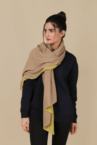 BW.128.BEIGE & LIGHT GREEN