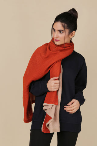 BW.130.BEIGE & ORANGE