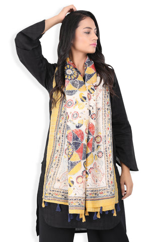 SW.119.LIGHT BEIGE ETHNIC