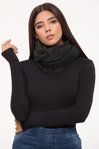 Black Gems Scarf