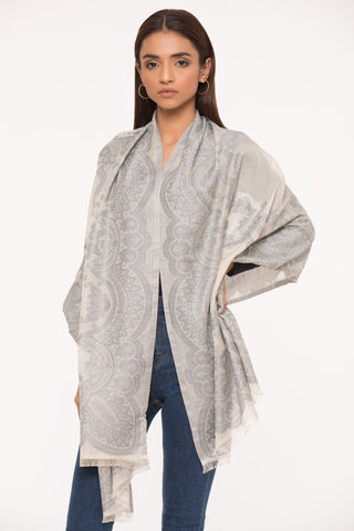 Silver Sophistication Scarf