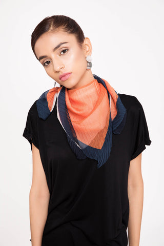 Coral Crush Scarf