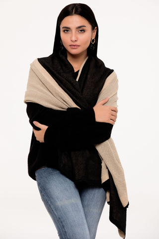 Black and Bold Scarf