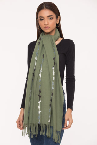 Oh So Olive Scarf