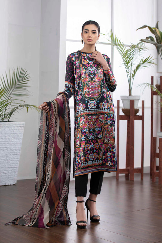 Sapphire Color Lanes Dupatta Summer Ready to Wear
