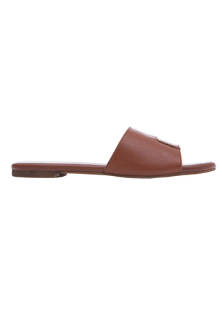 Brown Slide Sandals